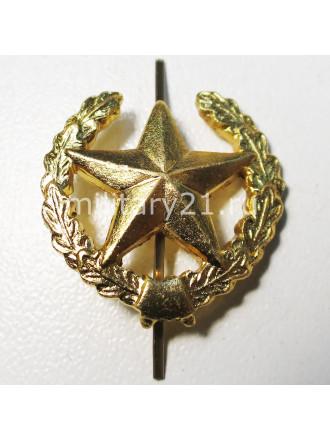 Эмблема Петличная Общевойсковая Золотая