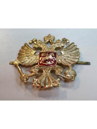 Эмблема на Тулью Двуглавый Орел РФ