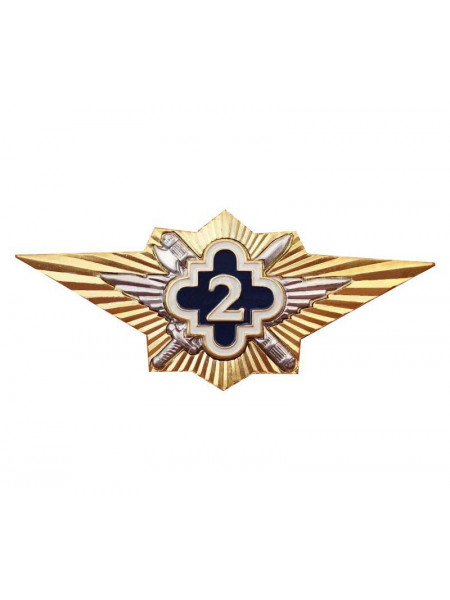 Знак классности ФСИН 2 класс