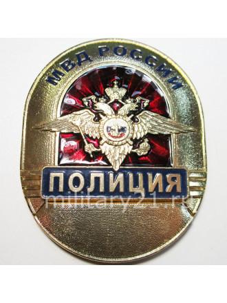 Жетон Полиция Нагрудный Знак Металл МВД