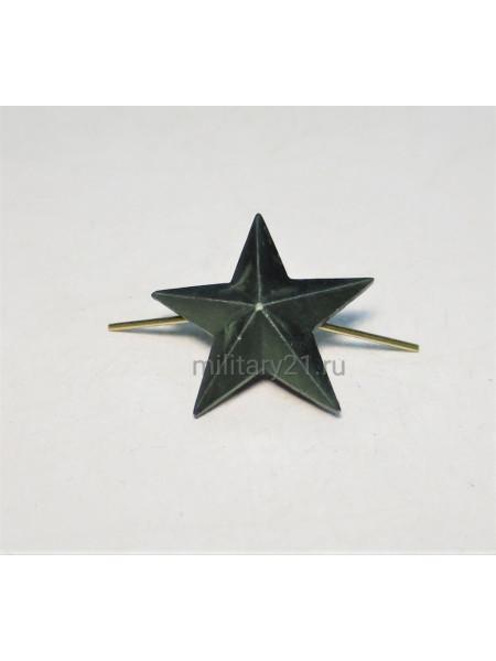 Звезда на Погоны 20 мм Защитная