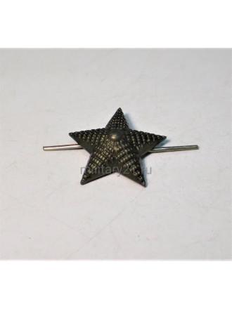 Звезда на Погоны 20 мм Защитная Рифленая Металл