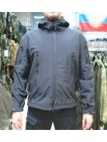 Куртка Софтшелл Милитари Черная