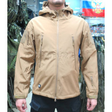 Куртка Софтшелл Милитари Койот