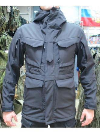 Куртка М-65 Софтшелл Черный