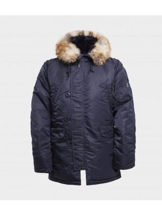 Куртка Аляска Apolloget TIGHT HUSKY II INK/Orange
