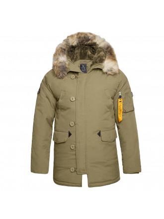 Куртка Аляска Apolloget OXFORD GOTNIC OLIVE/ OLIVE