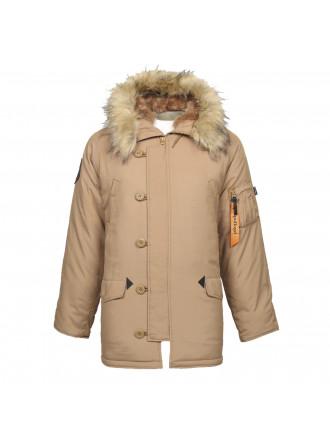 Куртка Аляска OXFORD CINAMON Apolloget