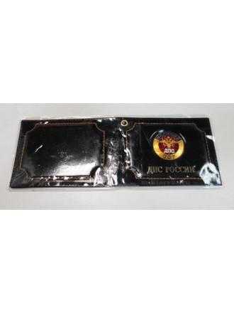 Обложка на Удостоверение ДПС со Значком Черная