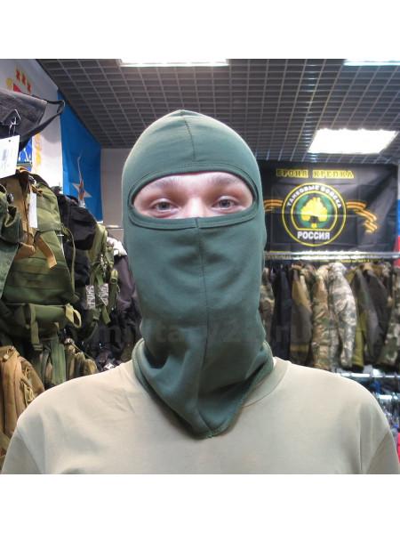 Балаклава маска подшлемник олива утепленный