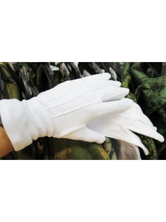 Перчатки Парадные Белые Хлопок