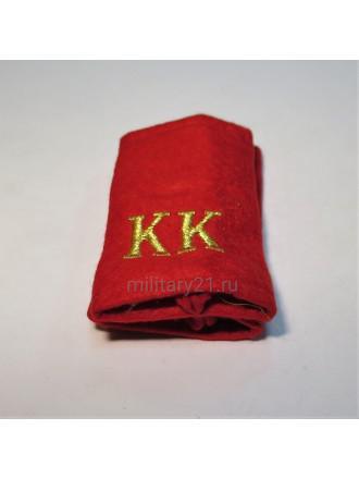 Фальш-погоны Красные КК