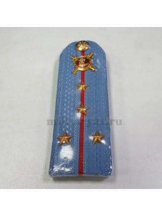 Погоны Полиции Капитан на Голубую Рубашку Укомплектованные