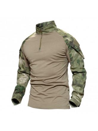 Рубашка Тактическая Боевая Мох Зеленый
