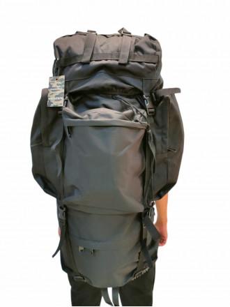 Рюкзак Походный 110 л Рамный Черный