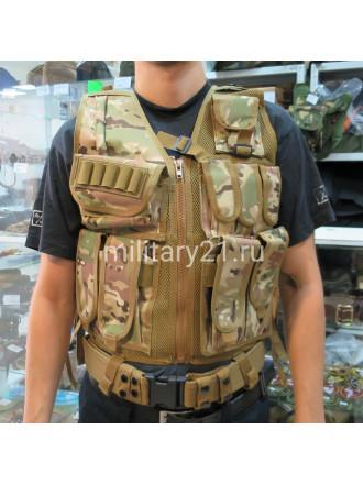 Разгрузка USMC Мультикам Пистолетная