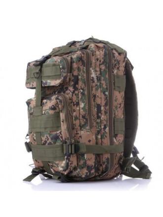 Рюкзак Тактический Милитари Woodland Digital 25 л