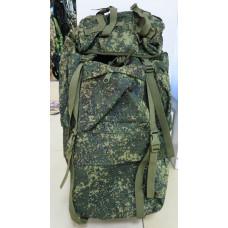 Рюкзак станковый 65 л цифра зеленая