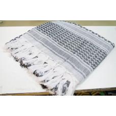 Арафатка шарф тактический черно-белый