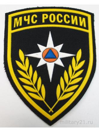 Шеврон МЧС России Щит Пластизоль