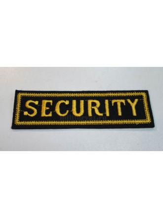 Нашивка Security на Грудь