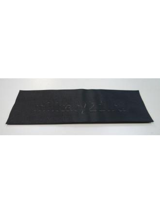 Контактная Лента (Липучка) для Нашивки на Спину (Черная) 100 x 300 мм