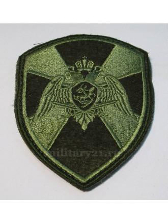 Нарукавный Знак Шеврон Росгвардия Полевой Общий на Липучке