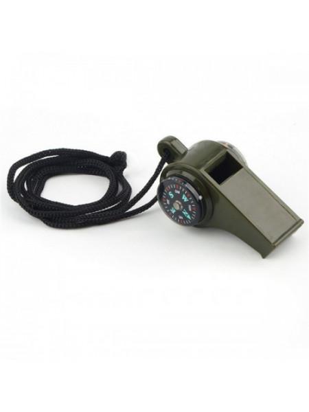 Компас-свисток и термометр Следопыт PF-TCP-08