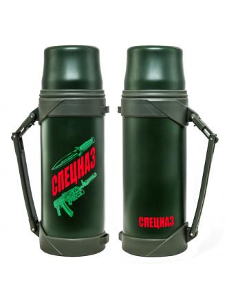 Термос 1л Спецназа Зеленый