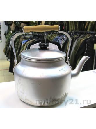 Чайник Армейский 5л Алюминий