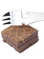 Универсальная Вилка Ложка Нож Открывашка Серебристая с Покрытием