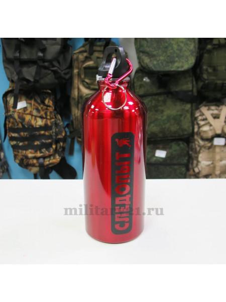 Бутылка Следопыт 600 мл красная