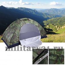 Камуфляжная палатка woodland 3-хместная