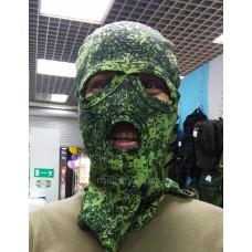 Балаклава маска с вырезами для глаз и рта цифра летняя