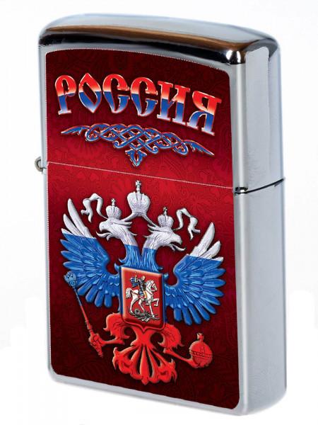 Зажигалка Zippo Россия