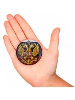 Значок Закатный Герб России