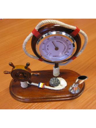 Подставка для Ручки с Термометром и Рулем