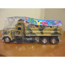 Машина военная игрушка инерционная