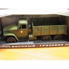 Игрушка грузовик СССР военный
