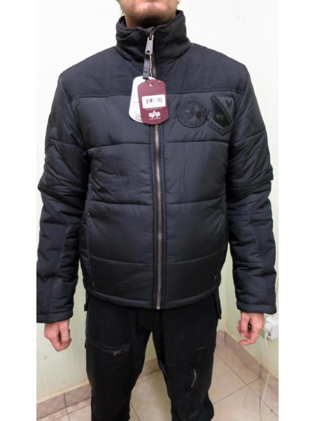Дутая куртка Summit Alpha Black