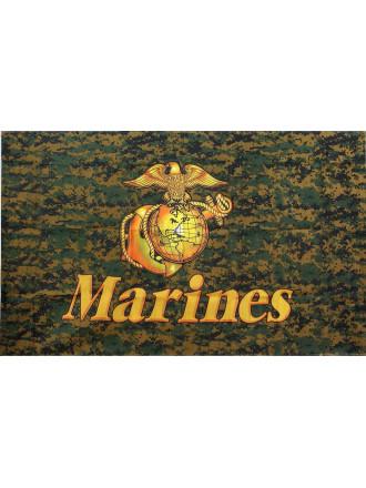 "Флаг ""Woodland Digital Marines"" Rothco 127х76 см"