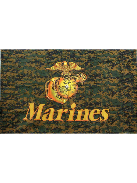 "Флаг ""Woodland Digital Marines"" Rothco"