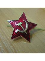 Звезда на шапку красная