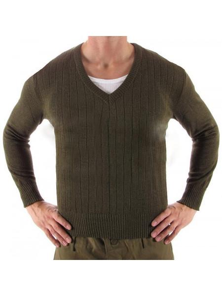 Военный свитер M85 хаки Чехия