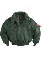Летная куртка B-15 Alpha Sage Green