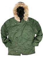 Куртка N-3B Alpha Sage Green