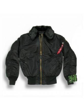 Летная куртка B-15 Alpha Black