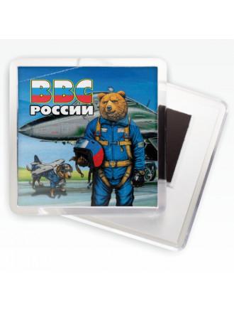Магнитик ВВС Медведь