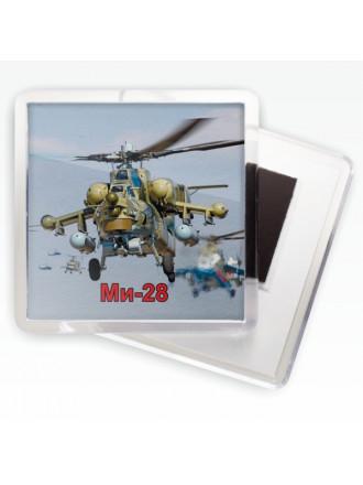 Магнитик ВВС МИ-28