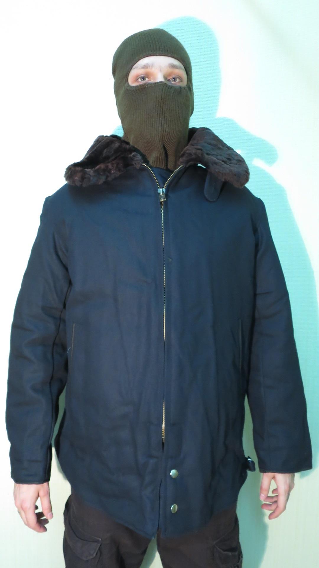 Куртка летная зимняя ВВС черная, купить по лучшей цене daf2662b7b6